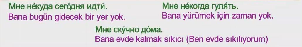 Rusça İsmin E Hali 8