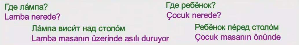 Rusça İsmin İLE Hali 16