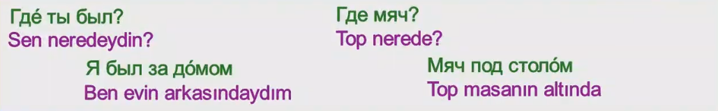 Rusça İsmin İLE Hali 17