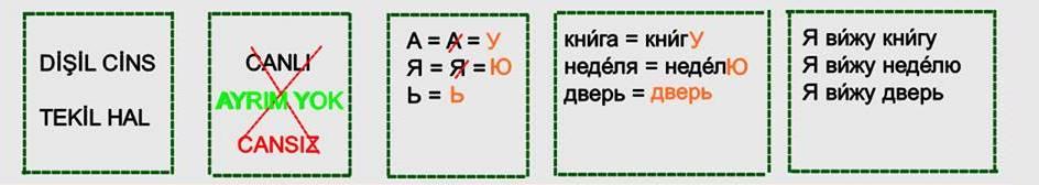 Rusça İsmin İ Hali 9