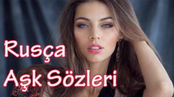 rusça aşk sözleri