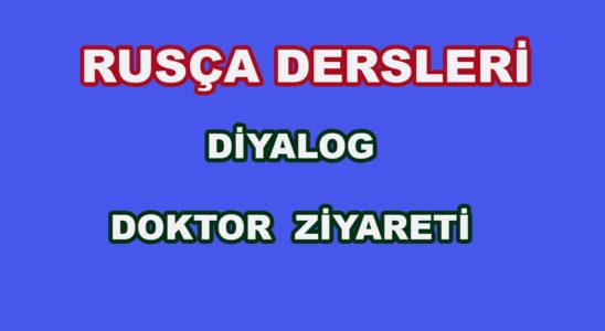 Rusça Diyalog - Doktor Ziyareti